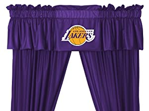 Los Angeles Lakers NBA Basketball Valance by Sports Coverage