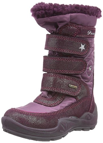 Primigi WANDA-E, Stivali da neve, gamba lunga, imbottitura calda Ragazza, Rosa (Pink (BORDO/GELSO)), 27