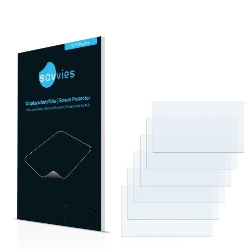 6x Displayschutzfolie für Garmin nüvi 2547LMT-D Folie Schutzfolie Displayfolie - Klar