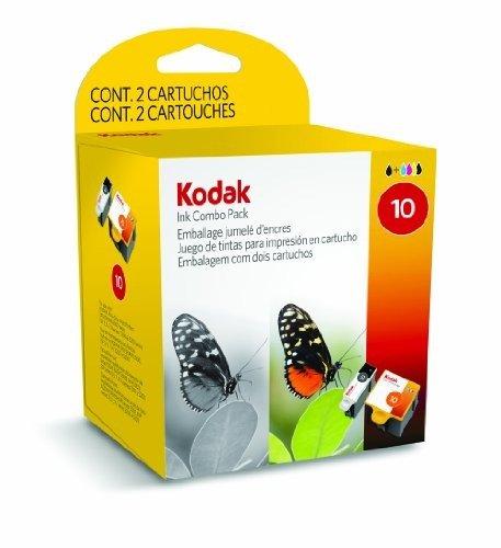 KODAK-Combo-Pack-10B-10C-1xColor-1xBlack-Druckerpatronen-420425-Seit