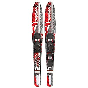 O'Brien Vortex Combo Water Skis With 700 Adjustable Bindings 2014 65.5in