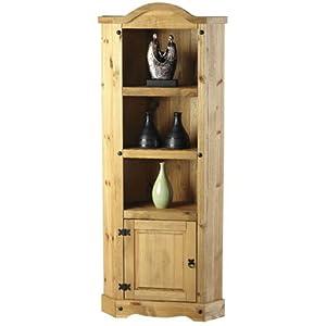 Cheap  Corona Pine Cabinet -Mexican Distressed Pine Corner Unit