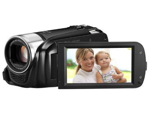 Canon LEGRIA HF R26 High Definition Camcorder - Black (20x Optical Zoom, 3 inch Touchscreen LCD)
