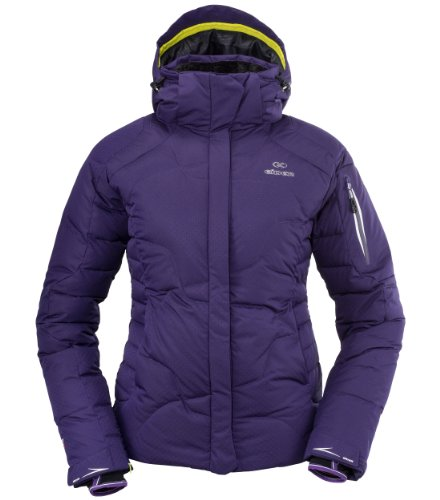 EIDER Damen Skijacke Squaw Valley, dark jacaranda, 46, EIV2359