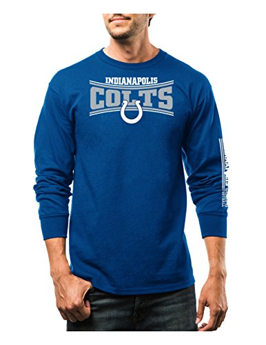 Junk Food Indianapolis Colts Touchdown Tri-Blend T-Shirt - Steel