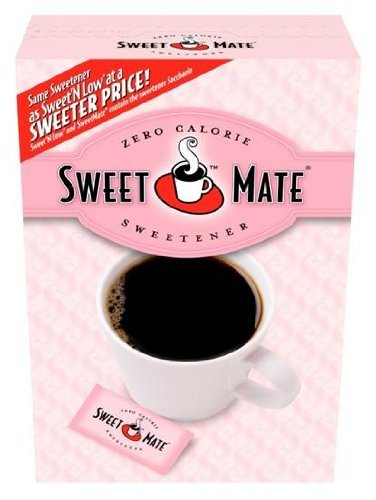 Sweet Mate Zero Calorie Sweetener, 100 Packets (Pack Of 6)