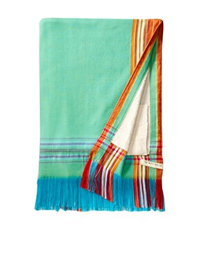 Nomadic Thread Society Sarong Towel, Electric Turquoise,