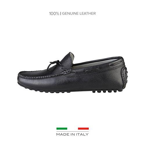 Made In Italia Raffaello, Mocassini uomo nero Size: EU 42