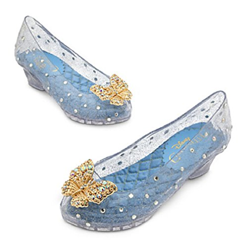 Disney - Cinderella Costume Shoes for Girls - Live Action Film - Size 11/12 - New