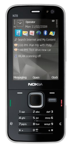 Nokia N78 2GB cocoa-brown Handy