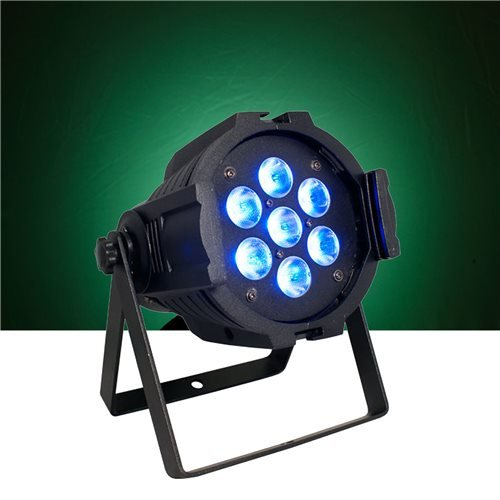 Blizzard Lighting Pp74 7 X 10 Watt Quad Led Par Can