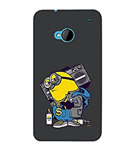 printtech Minions Swag Back Case Cover for HTC One M7::HTC M7