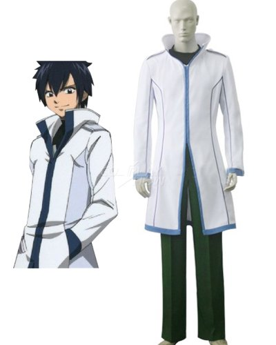 Jamcos Fairy Tail Ice Magic Gray·Fullbuster Cosplay Costume-made
