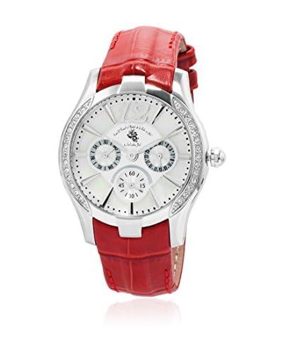Grafenberg Reloj de cuarzo Woman SD702-114 Rojo 37 mm