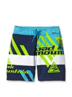 Peak Mountain Short de Baño Ecahit (Azul / Lima)