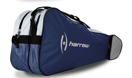 Harrow 3 Racquet Bag (Navy/White)