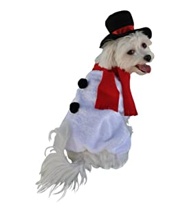 Anit Accessories Snowman Dog Costume, 12-Inch from Anit Accessories Corp.