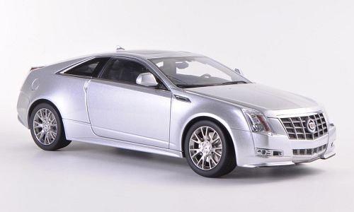 Cadillac CTS Coupe, silber , Modellauto, Fertigmodell, Kyosho 1:18