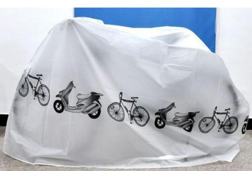 White Bicycle Cycling Rain Dust Protector Cover Waterproof Protection Garage front-825995