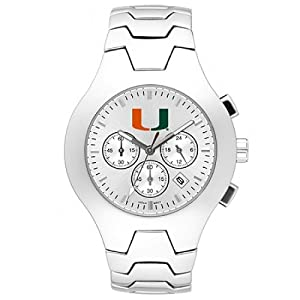 NSNSW22602Q-Mens Hall-of-Fame University of Miami Hurricanes Watch by NCAA Officially Licensed