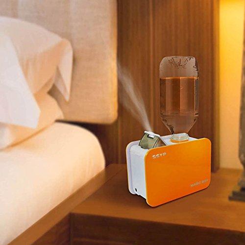 Tera® キューブ型 携帯に便利な ポータブル ペットボトル式 加湿器 乾燥対策や風邪防止に