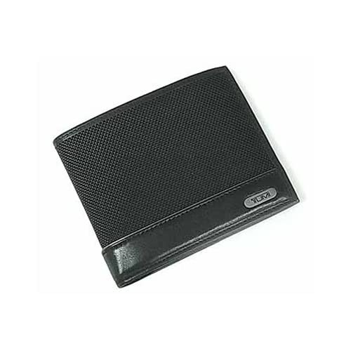 019337D (トゥミ)TUMI ナイロン&レザー デザイン二つ折りコンパクト財布 ブラック 並行輸入品