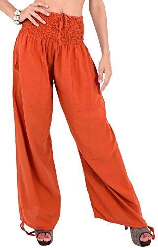 yoga-joggers-rayon-plain-drawstring-lounge-pajama-beachwear-women-pant-saffron