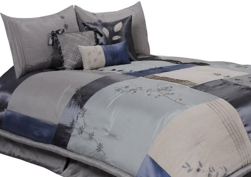 Grey Ruffle Bedding