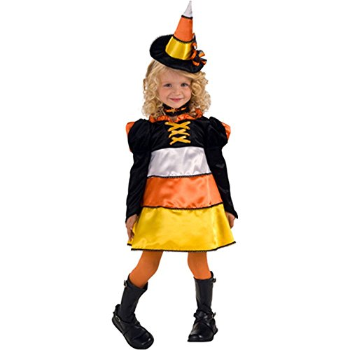 Candy Corn Witch Toddler Costume - Toddler
