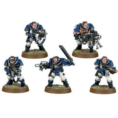 Space Marine Scouts Squad Warhammer 40k
