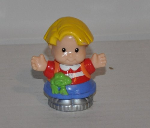 Vintage Little People Eddie (2000) Retired Replacement Figure - Classic Fisher Price Collectible Figures - Zoo Circus Ark Pet