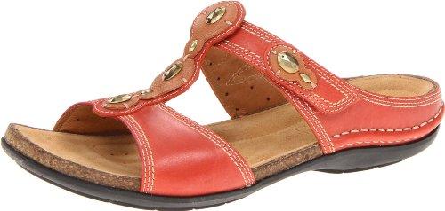 Clarks Women'S Surf Sandal,Burnt Orange,7 M Us front-794078