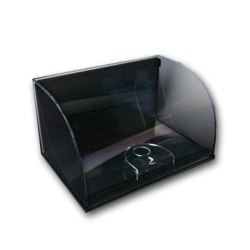 Upper Deck Curve Display Case - Horizontal 8x10 Version