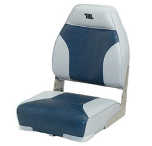 Standard High Back Boat Seat With Logo Greynavy O