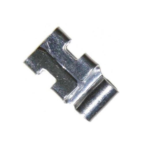 3M 752-250 Non-Insulated Disconnect Flag Terminals 16-14 AWG Butted Seam - 100 pack