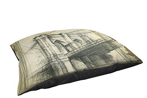 Thumbprintz Duvet Cover, Queen/Full, Brooklyn Bridge front-469358