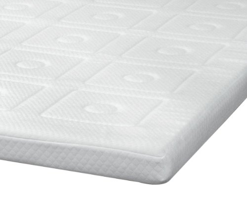 Sensorpedic Luxury Extraordinaire 3-Inch Quilted Memory Foam Mattress Topper, Twin Size, White front-355125