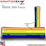 Product  - Product title Rainbow Stripes Skin by WraptorSkinz TM fits Original XBOX 360 Factory Faceplates