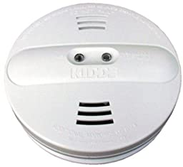 Kidde Model Pi9010 Dual Sensor, Battery Operated Photoelectric / Ionization Smoke Alarm (6-Pack)