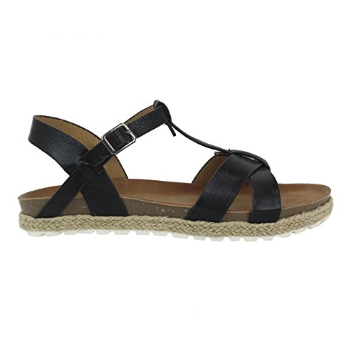Sandali per Donna REFRESH 61841 METALIZADO NEGRO size-map 41