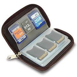 Link Depot LD-MCHOLDER Memory Card Carrying Case - Black