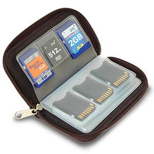 Link Depot LD-MCHOLDER Memory Card Carrying Case - Sinister