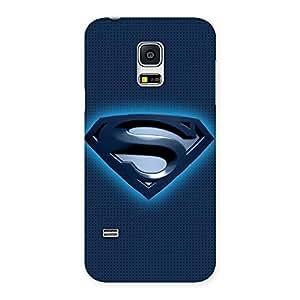 Ajay Enterprises Blues Sup Back Case Cover for Galaxy S5 Mini