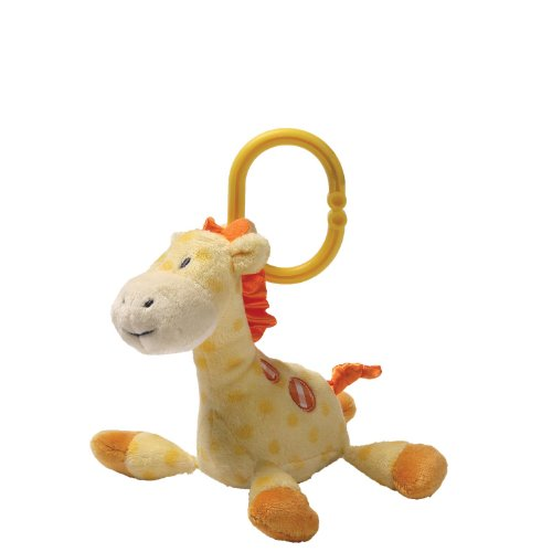 Gund Baby Rattle, Grigsby Giraffe (Discontinued by Manufacturer)