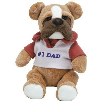 TY Beanie Baby - DAD 2007 the Bulldog (Internet Exclusive)
