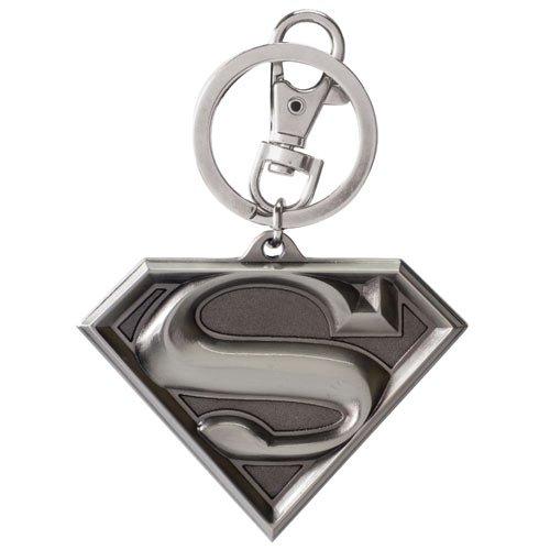 Superman スーパーマン ピューター(白目)製キーチェイン 並行輸入品