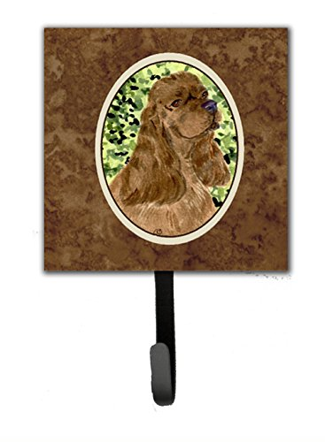 Carolines Treasures SS8807SH4 4.25 x 6 in. Cocker Spaniel Leash Or Key Hook carolines treasures kj1139sh4 lhasa apso leash holder or key hook