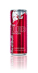 Red Bull Can, Red Edition, 8.4 Ounce (Pack of 24)
