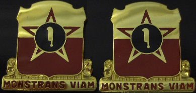 528th ARTY GROUP Distinctive Unit Insignia - Pair