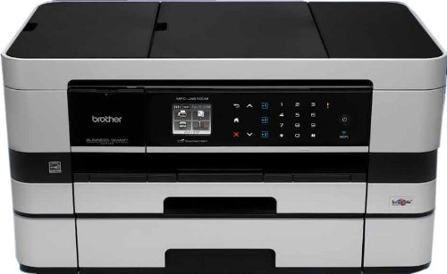 Brother MFC-J4610DW A4 Inkjet All-In-One Printer, Scanner, Copier and Fax with A3 Capabilities